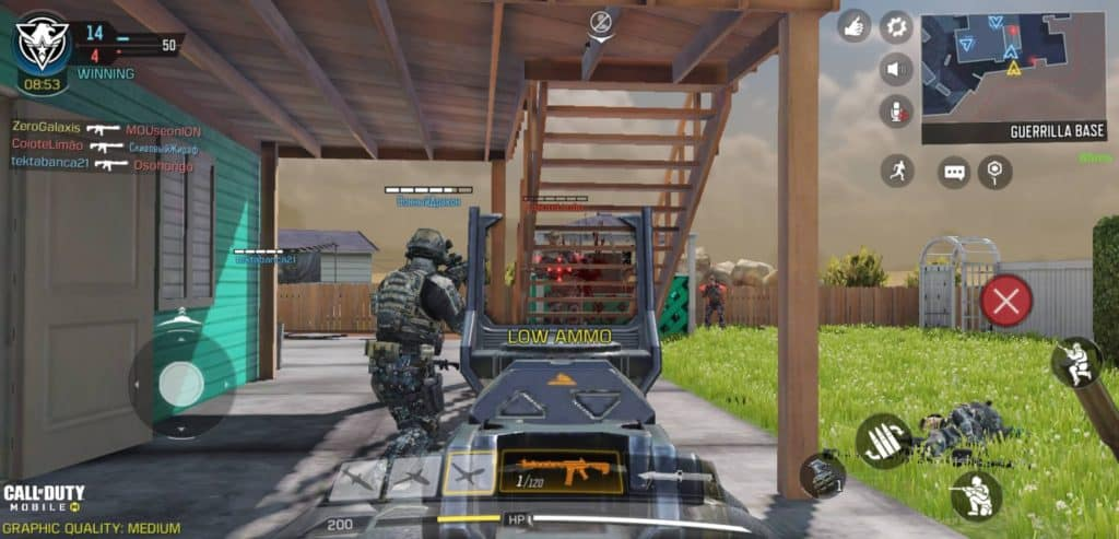 Call of Duty Mobile - First-person View
