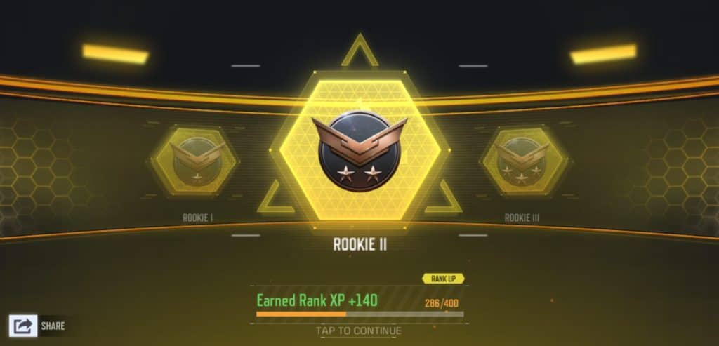 Call of Duty Mobile - Rankings