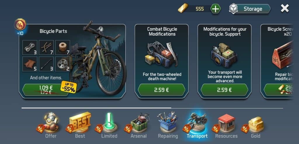 Dawn of Zombies - In-Game Monetization