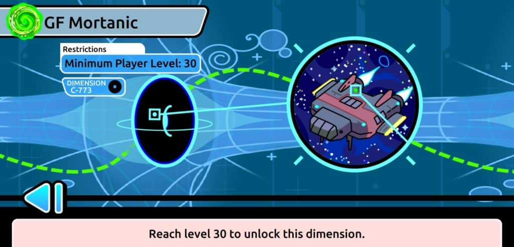 Unlock new dimensions by leveling your character in multiplayer